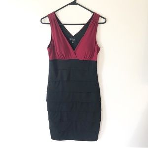 Enfocus Studio Bodycon Tiered Dress Size 6